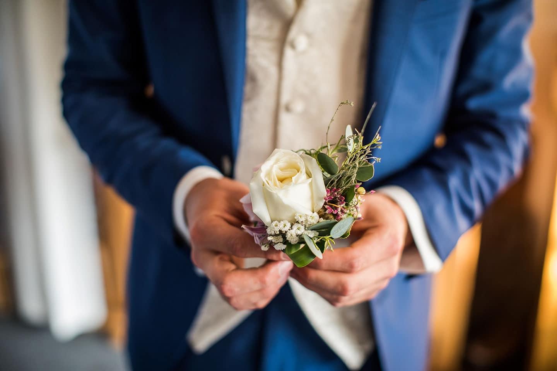 Corsage bruiloft Utrecht