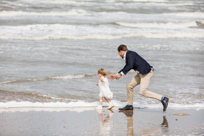 Fotoshoot gezin strand Noord-Holland