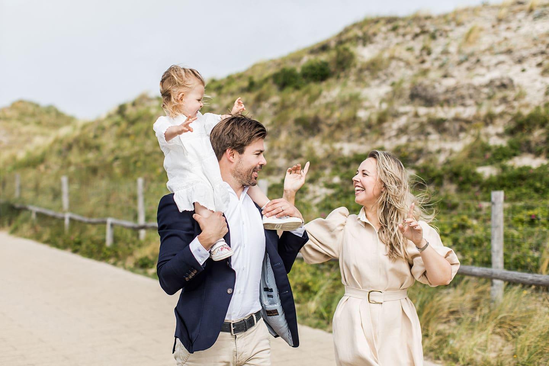 Fotoshoot familie Bergen aan Zee