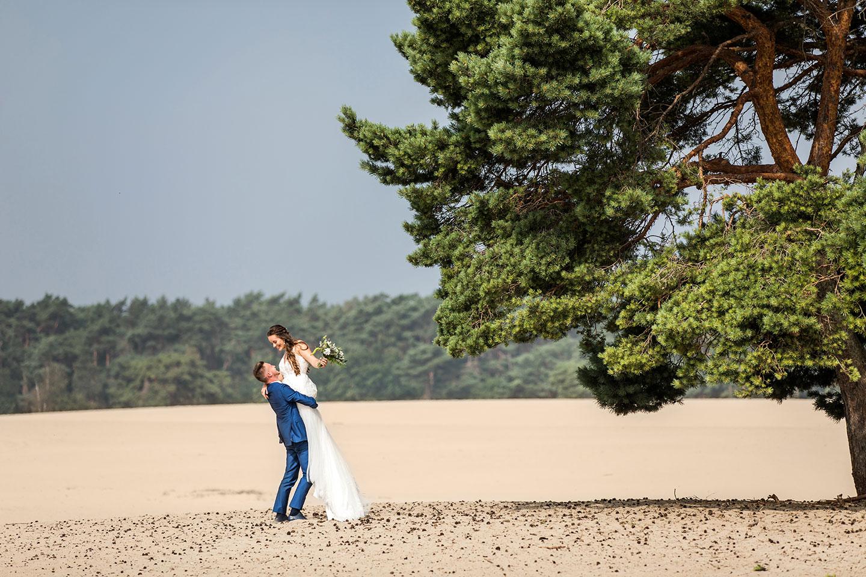 Soesterduinen bruidsreportage