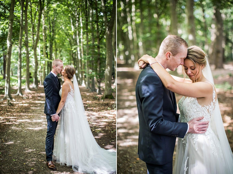 Huwelijksfotograaf bij Kasteel Maurick