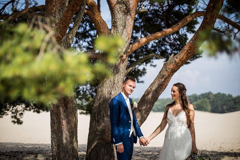 Soesterduinen bruidsfotografie