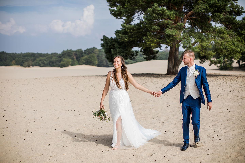 Fotoshoot Soesterduinen bruiloft