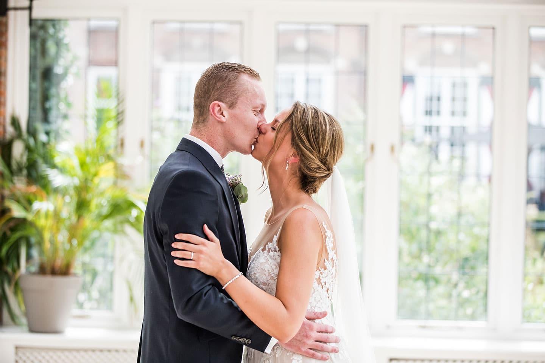 Huwelijk ceremonie Kasteel Maurick