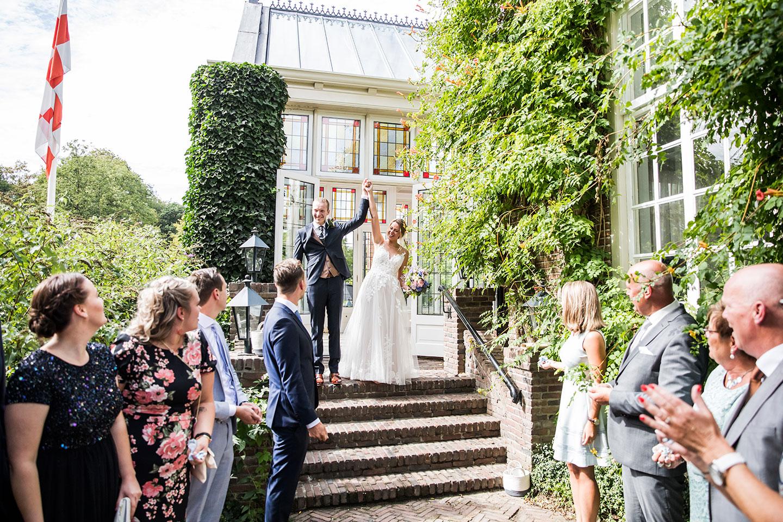 Ceremonie bruiloft Kasteel Maurick