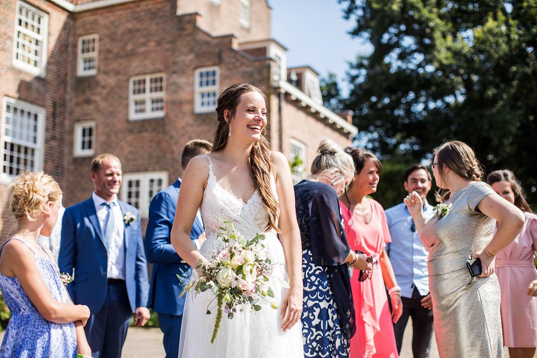 Bruidsfotografie bij de Landgoederij