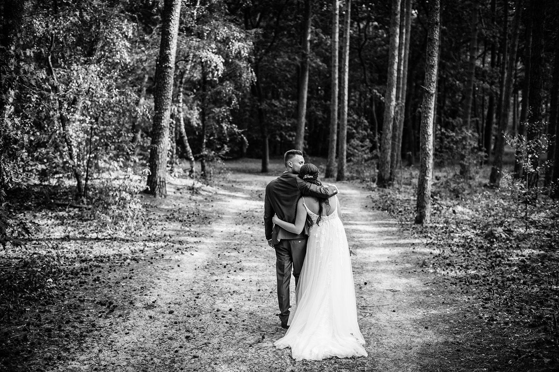 Bruiloft bij de Landgoederij
