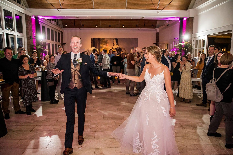 Feest bruiloft Kasteel Maurick
