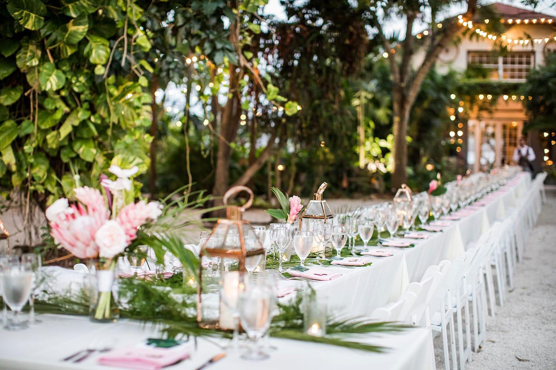 Dinner Table Historic Walton House Wedding