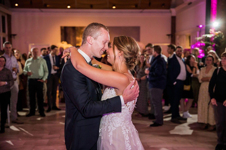 Openingsdans feest bruiloft Kasteel Maurick