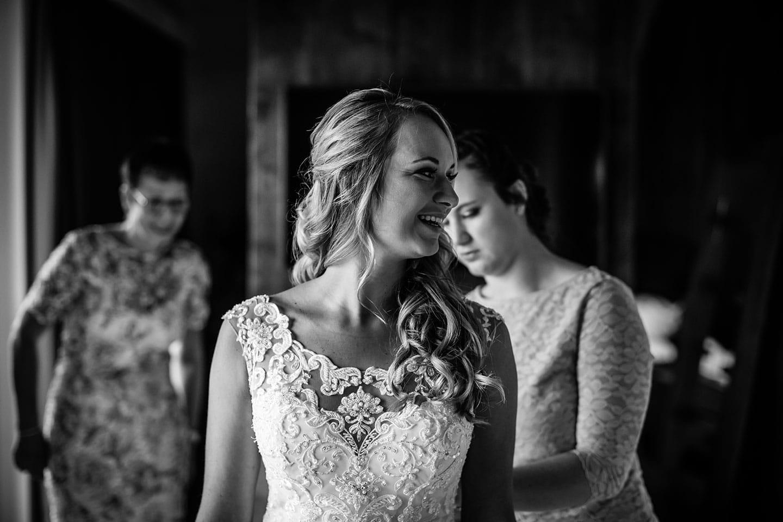 Trouwen tijdens corona bruid
