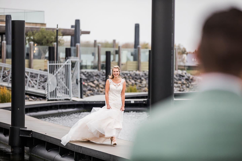 Trouwfotograaf tijdens corona bruiloft