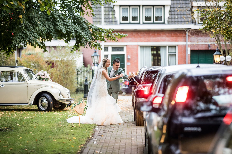 Bruiloft tijdens corona